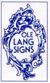 Ole Lang Signs